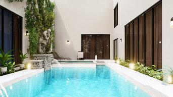 Minimalist Pool