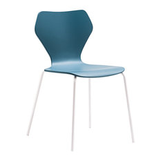 Woman Dining Chairs, Petrol Blue, Set of 2