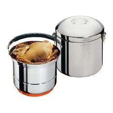 "Sunpentown 8"" Stainless Steel Stove-Top Thermal Cooker"