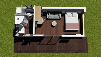 Exemples de modules d'habitation