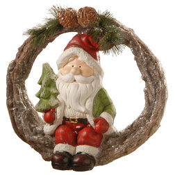 Traditional Holiday Accents And Figurines by National Tree Company
