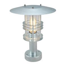 Pedestal Light, Galvanised