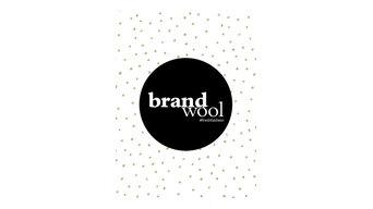 Brandwool Logo auf Textil