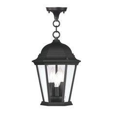 Hamilton Outdoor Chain-Hang Light, Black