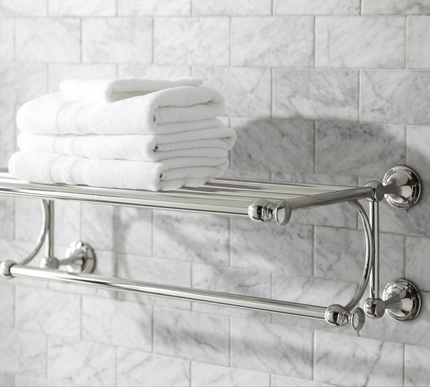 Traditional Towel Bars And Hooks by Pottery Barn. Your Bath  Hotel Style Towel Racks