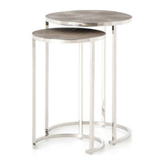 Desmond Nesting Table Stainless