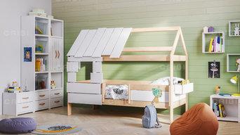 """Детская кровать """"Вуди"""" (низкая)"""