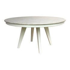 Nantucket Round Dining Table Navy/Riverwash