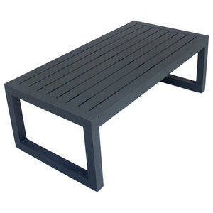 Outdoor Alhama Coffee Table, Anthracite