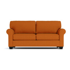 Lafayette Apartment Size Sleeper Sofa, Innerspring Mattress, Sweet Potato