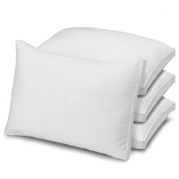Traditional Bed Pillows by Exquisite Hotel