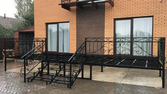 Терраса и балкон на дачном участке в г. Воткинске