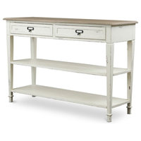 Boasting Dauphine French Accent Console Table