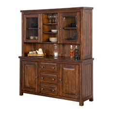 Sunny Designs, Inc. - Sunny Designs Tuscany Hutch and Buffet - Buffets and Sideboards