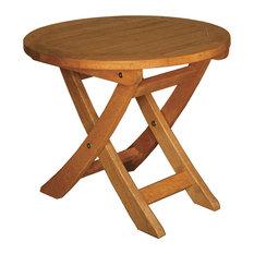 "Terrace Mates 18"" Aspen Round Folding End Table"