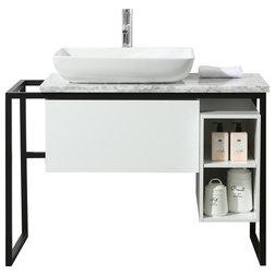 Industrial Bathroom Vanities And Sink Consoles by Pot Racks Plus