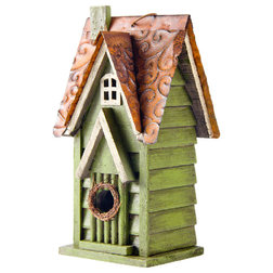 Rustic Birdhouses by Glitzhome