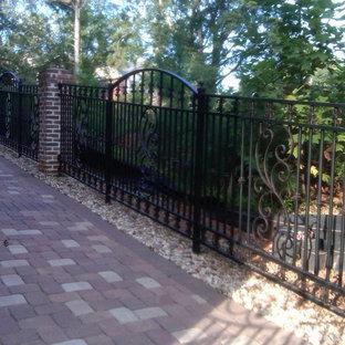 Inspiration for a rustic home design remodel in Atlanta