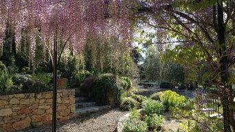 A garden in Lorgues