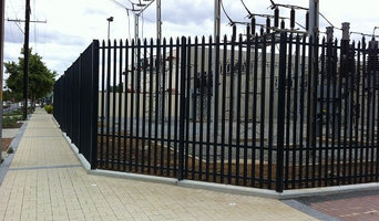 High Security Fencing - Power Station