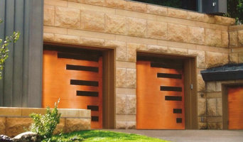 Custom Wood Garage Door - Model EX-355GG-St. Augustine
