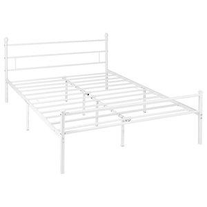 Doris Modern Iron King Bed Frame
