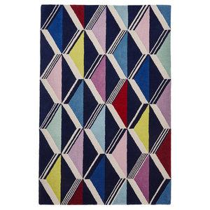 Fiona Howard Zig Zag Rectangular Rug, 150x230 cm