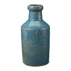Dimond Home Rustic Milk Bottle, Ocean