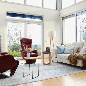 Wohnbereich + Galerie Neugestaltung Einfamilienhaus