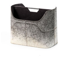 Interlude Home Anja Magazine Rack - Grey