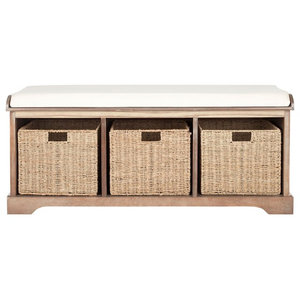 Outstanding Loring Entryway Storage Bench White Tropical Accent And Cjindustries Chair Design For Home Cjindustriesco