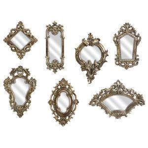 Loletta Victorian Mirrors, Set of 7