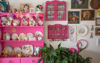 My Houzz: A Crush on Kitsch Gives a Townhouse a Quirky Edge