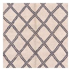 """Vintage Moroccan Wool Rug, 5'11""""x11'6"""""""