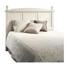 Bowery Hill - Bowery Hill Full Queen Panel Headboard, White - Headboards
