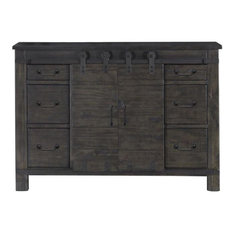 Magnussen Abington Media Chest In Weathered Charcoal