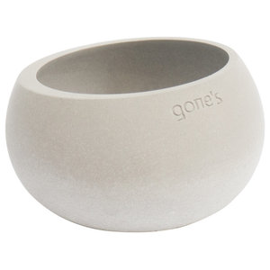 Gone's Brut Concrete Tea Light Holder, Natural, Small