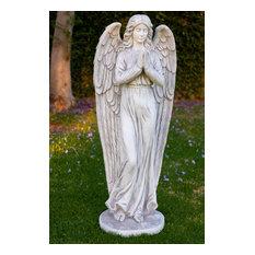 "Angel Prayer Statue, 47"""