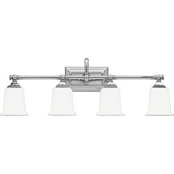 Beautiful Contemporary Bathroom Vanity Lighting by Quoizel
