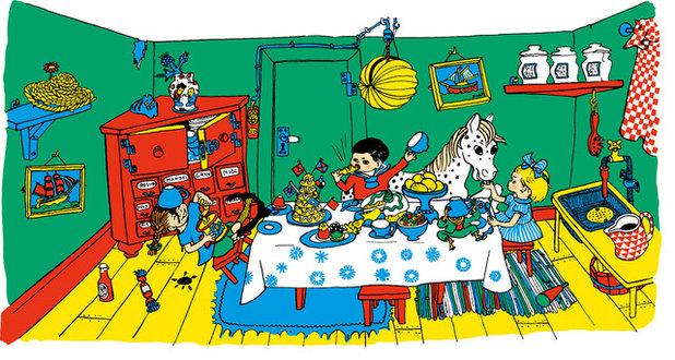 【福岡】長くつ下のピッピの世界展 リンドグレーンが描く北欧の暮らしと子どもたち