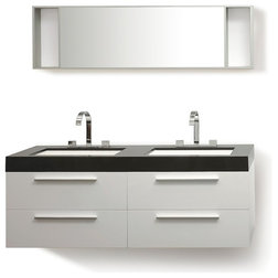 Good Contemporary Bathroom Vanities And Sink Consoles by Velago Furniture Outlet