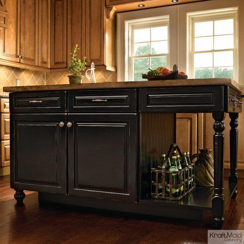 Kitchen Island Kraftmaid wonderful kitchen island kraftmaidcabinets shows how pretty it