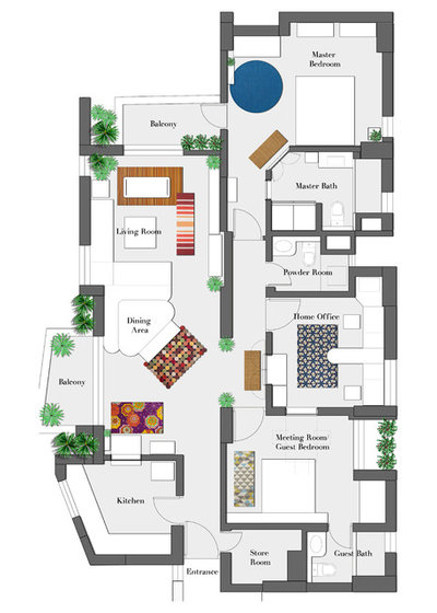 Floor Plan by Layers Studios for Design & Architecture