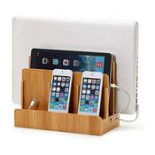 G.U.S. SMART Original Multi Charging Station + A/C USB Power Hub, Eco-Friendly B
