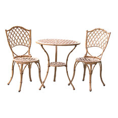 Bamboo Bistro Set, Light