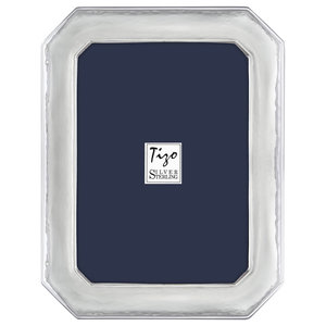 "Hammered Octagon Photo Frame, 8""x10"""