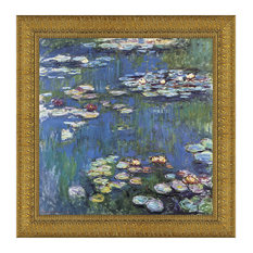 """""""Waterlilies 1914"""" Stretched Canvas Replica, 16""""x16"""""""