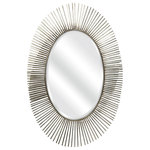 Imax - Imax Silver Navio Silver Leaf Abstract Wall Mirror - IMAX exclusive!Features