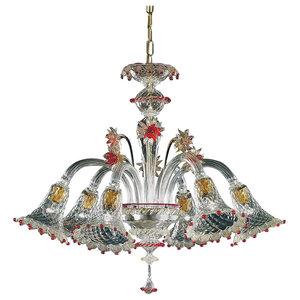 Rosalba Murano Glass Chandelier
