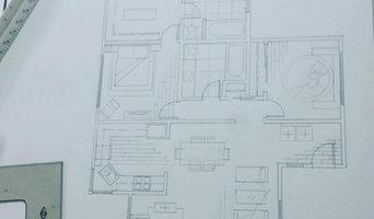 Hand Drawn Space Plan Design